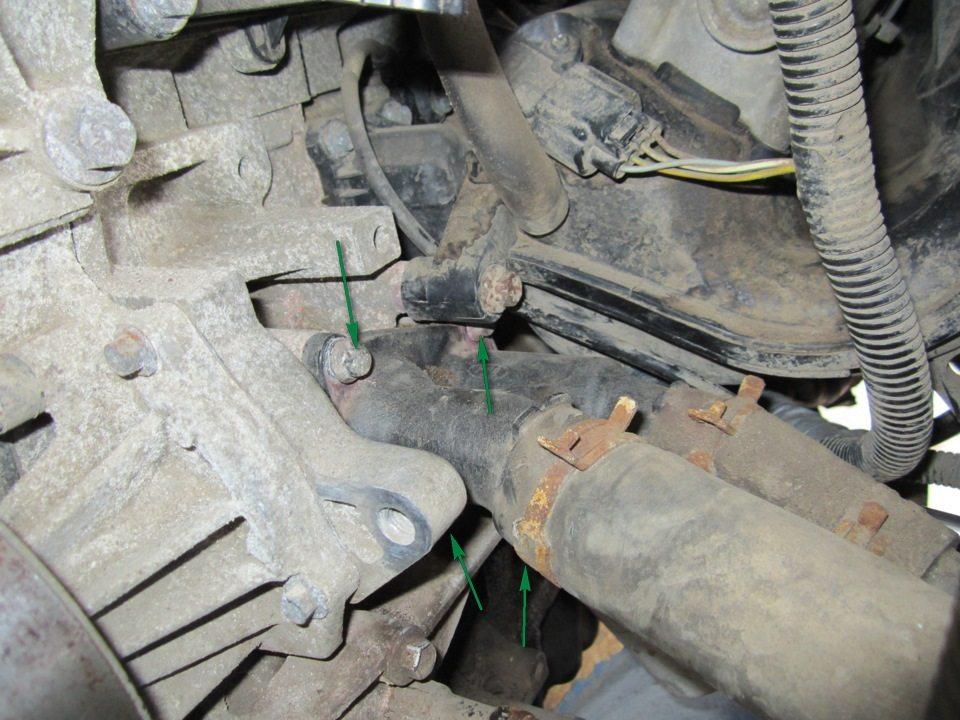 Форд фьюжн замена колёсной шпильки 1 фотография