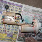 Замена топливного фильтра версо