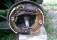 Замена задних тормозных колодок Matiz