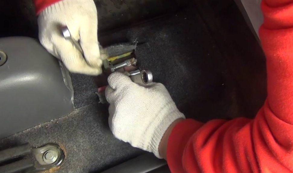 Замена тормозных колодок Matiz