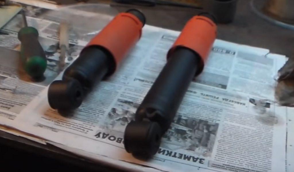 Самостоятельная замена передних амортизаторов ВАЗ 2107