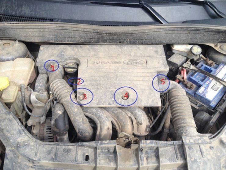 Замена воздушного фильтра на форд фьжн